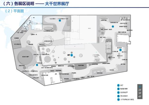 大千世界展厅平面图